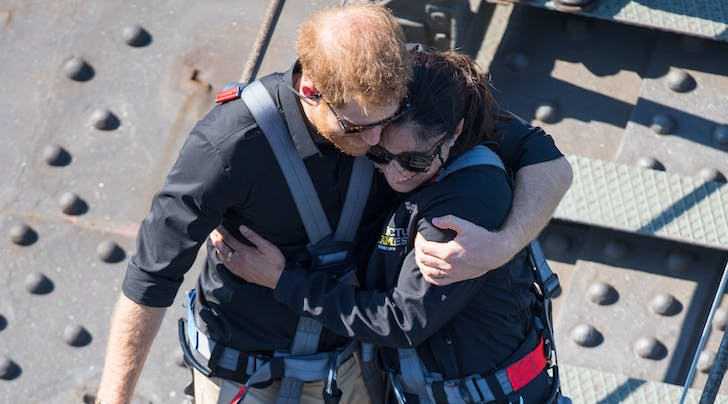 Prince Harry Comforted a Military Widow While Climbing the Sydney Harbour Bridge