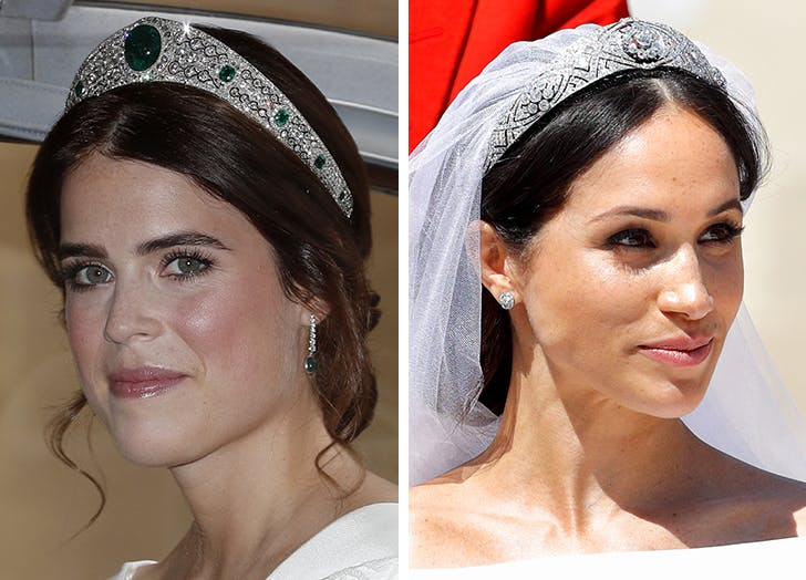 Princess Eugenie Meghan Markle jewelry