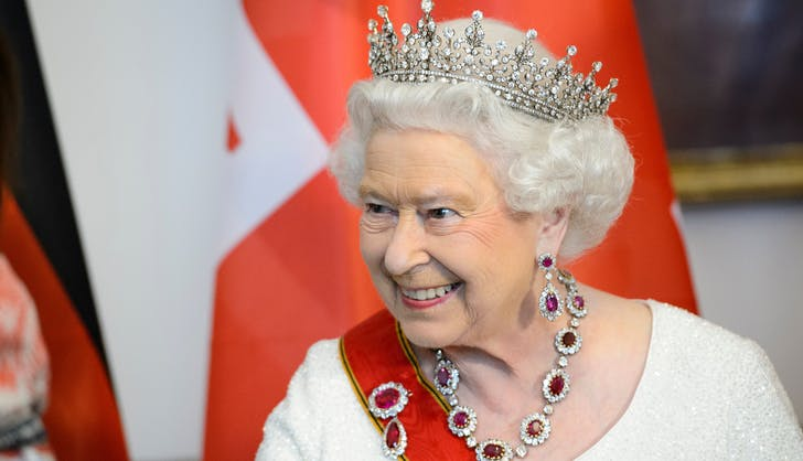Queen Elizabeth in tiara