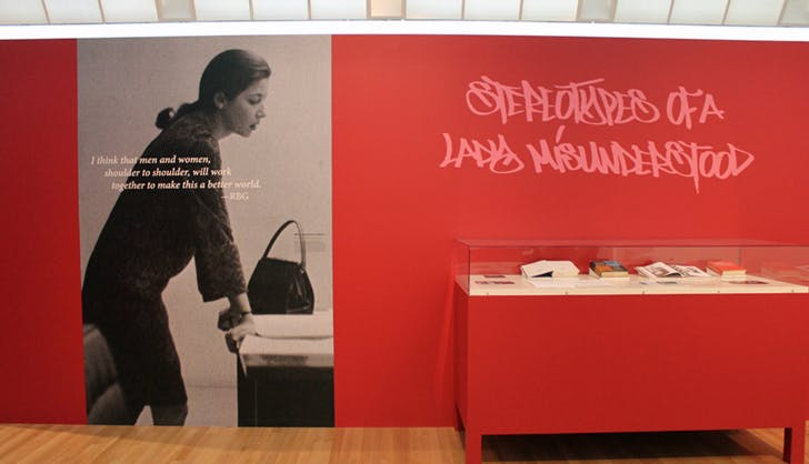 Ruth bader ginsburg exhibit stereotypes