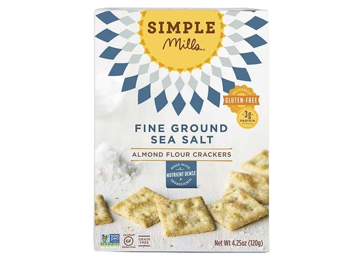 Simple Mills Fine Ground Sea Salt Healthy Crackers