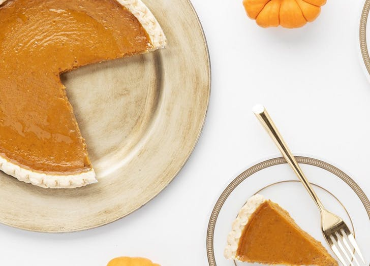 Susie Cakes pumpkin pie