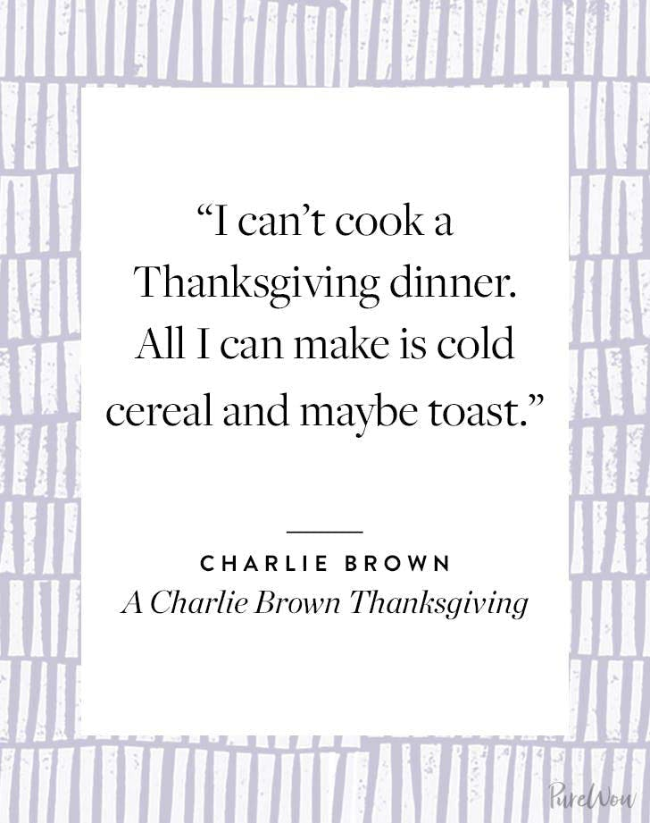 Thanksgiving Quote Charlie Brown