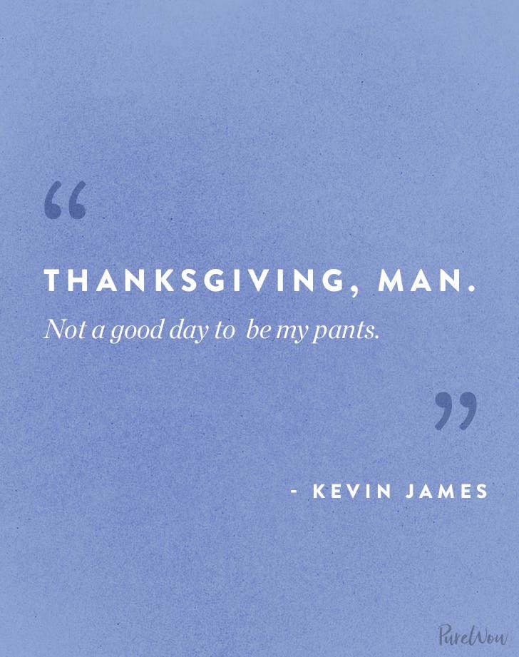 Thanksgiving Quote Kevin James