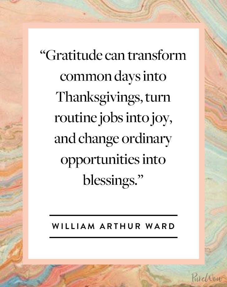 Thanksgiving Quote William Arthur Ward