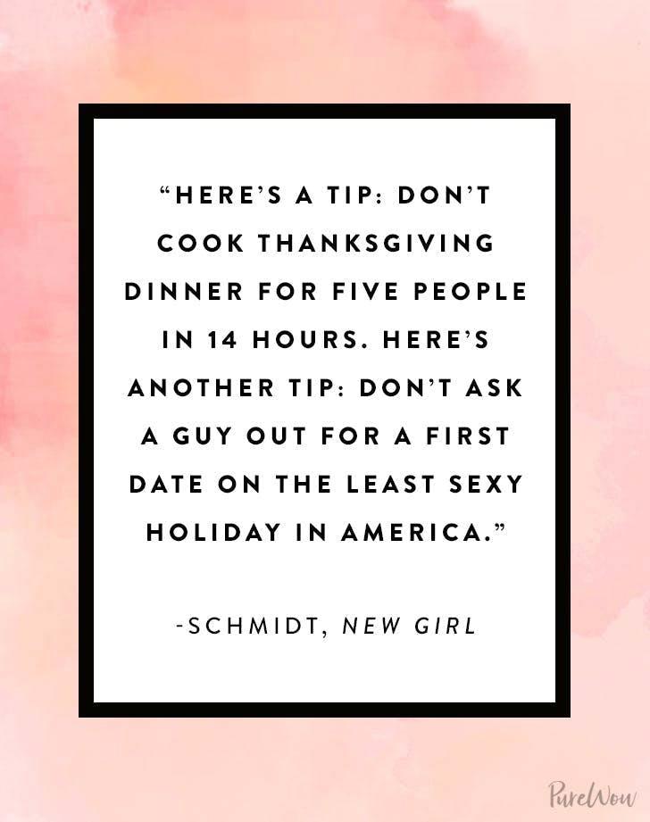 Thanksgiving quote schmidt new girl1