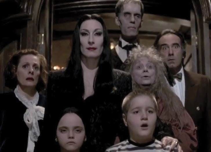 The addams family halloween movie