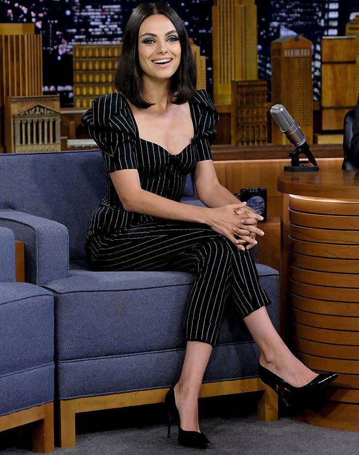 Mila Kunis visits The Tonight Show Starring Jimmy Fallon