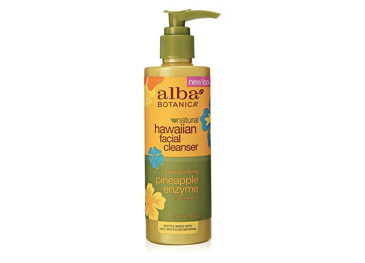 alba botanica facial cleanser drugstore beauty products