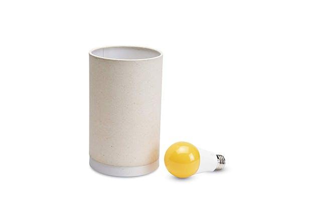 amber light lamp
