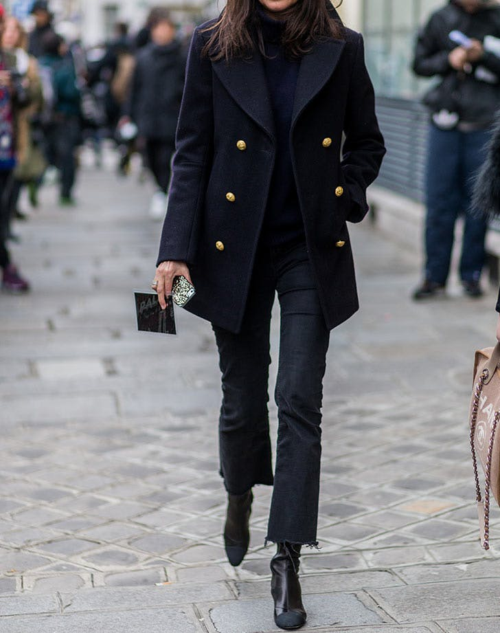 ankle boots with black turtleneck
