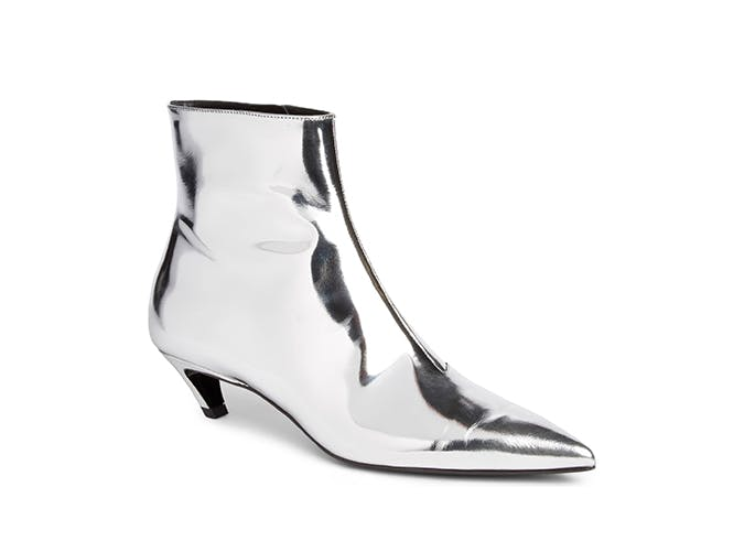 balenciaga kitten heel boots
