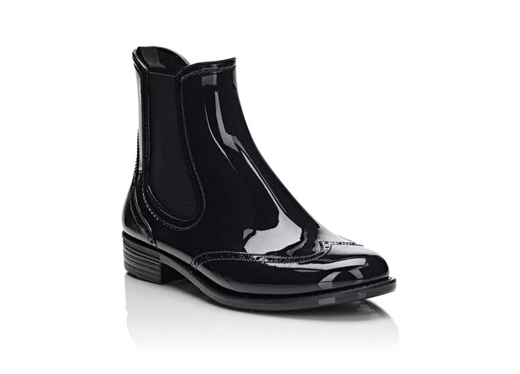 barneys new york wingtip rain boot