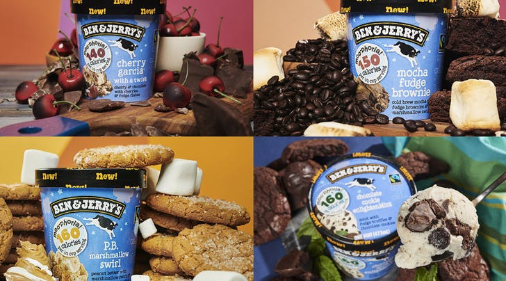 Shut the Fridge Door! Ben & Jerrys Has 4 New Low-Cal Flavors