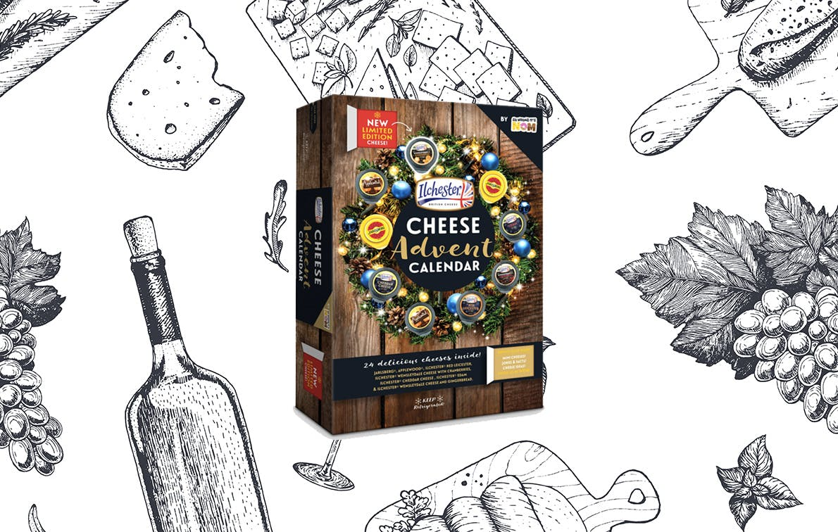 Target's New Cheese Advent Calendar Is Filled with 24 Mini Cheese Wheels that Are Too Gouda to Be True