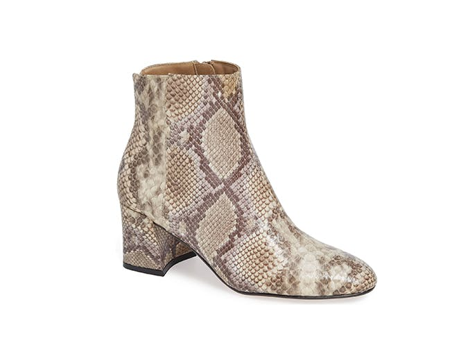 chinese laundry snakeskin boots