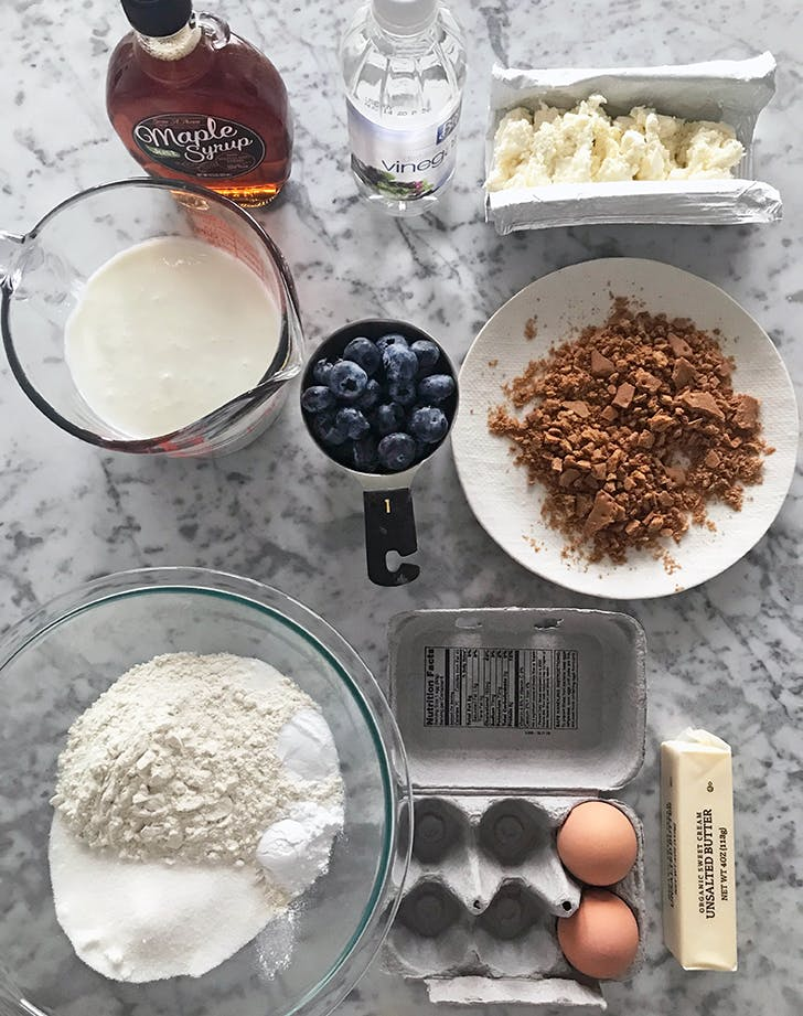 chrissy teigen cream cheese blueberyr pancakes ingredients ingredients