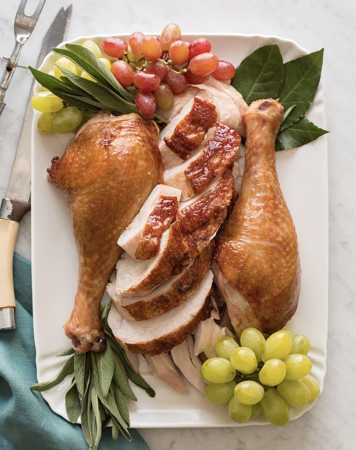 citrus herb roast turkey recipe