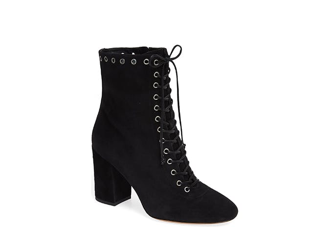 coach lace up boots