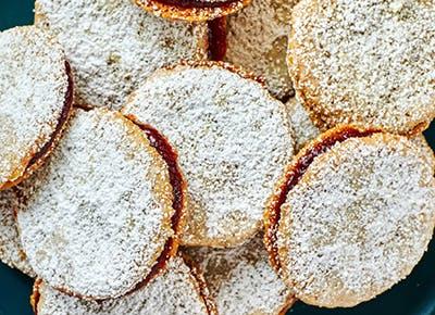 easy cranberry pecan sandwich cookies recipe 290