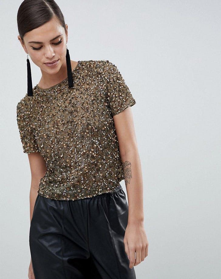 embellished t shirt