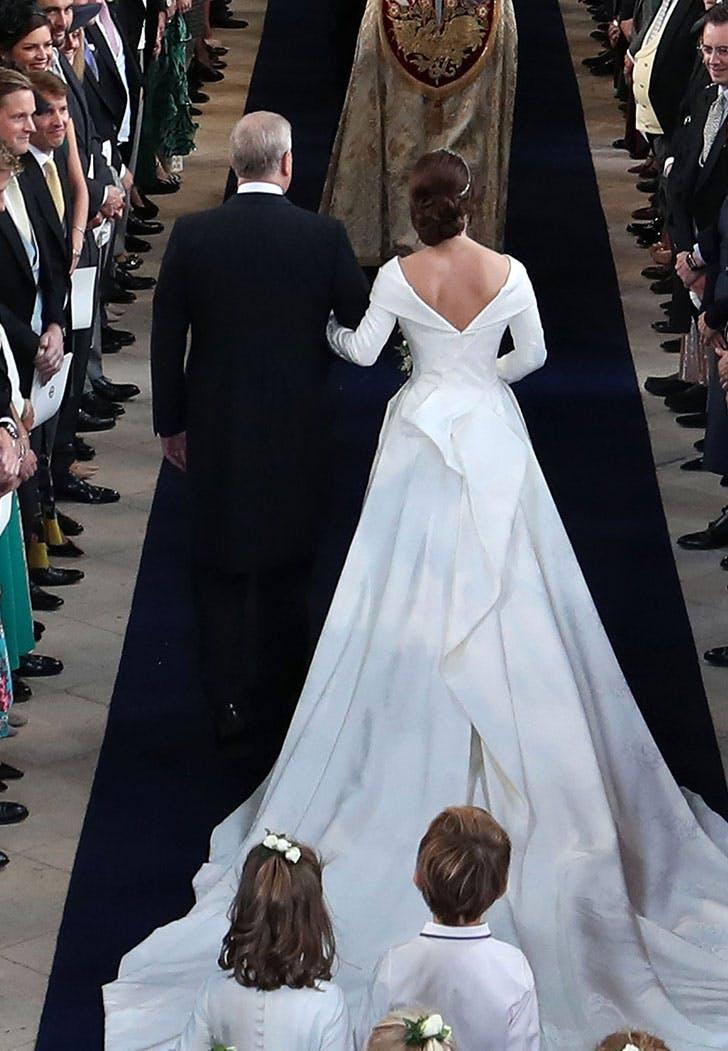 eugenie wedding dress backless