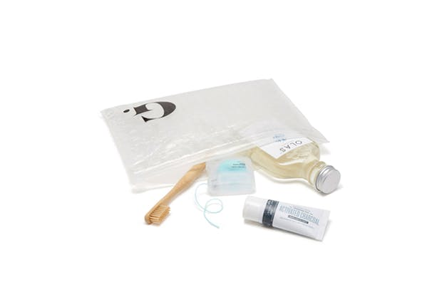 goop oral hygiene travel kit