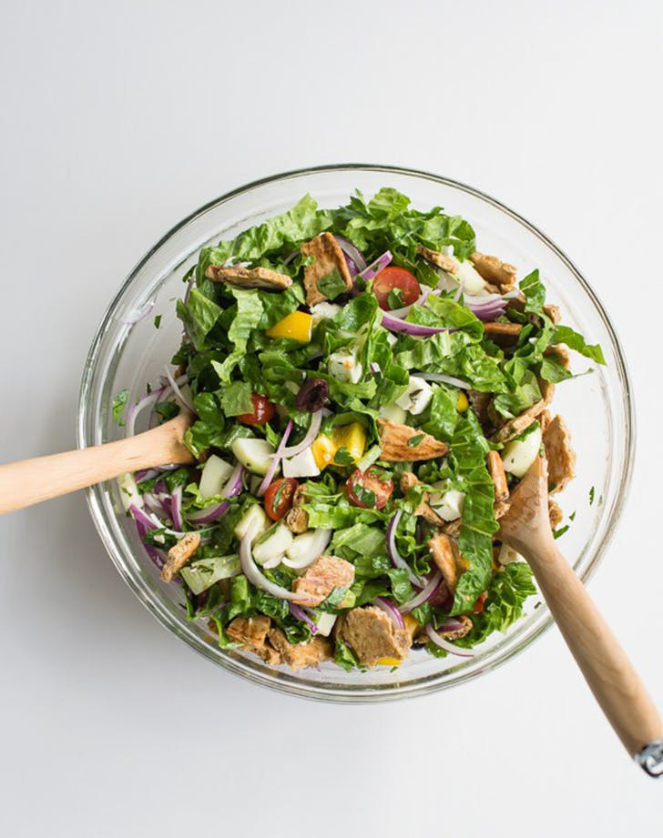 greek fattoush salad recipe