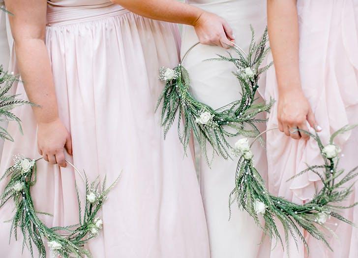 greenery hoop wedding bouquets 728