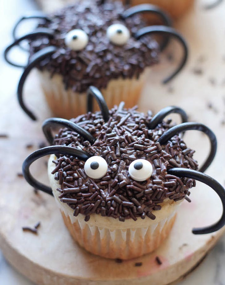 halloween spider cupcakes recipe