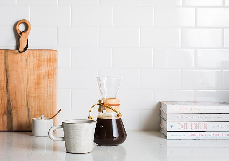 home brewed coffee