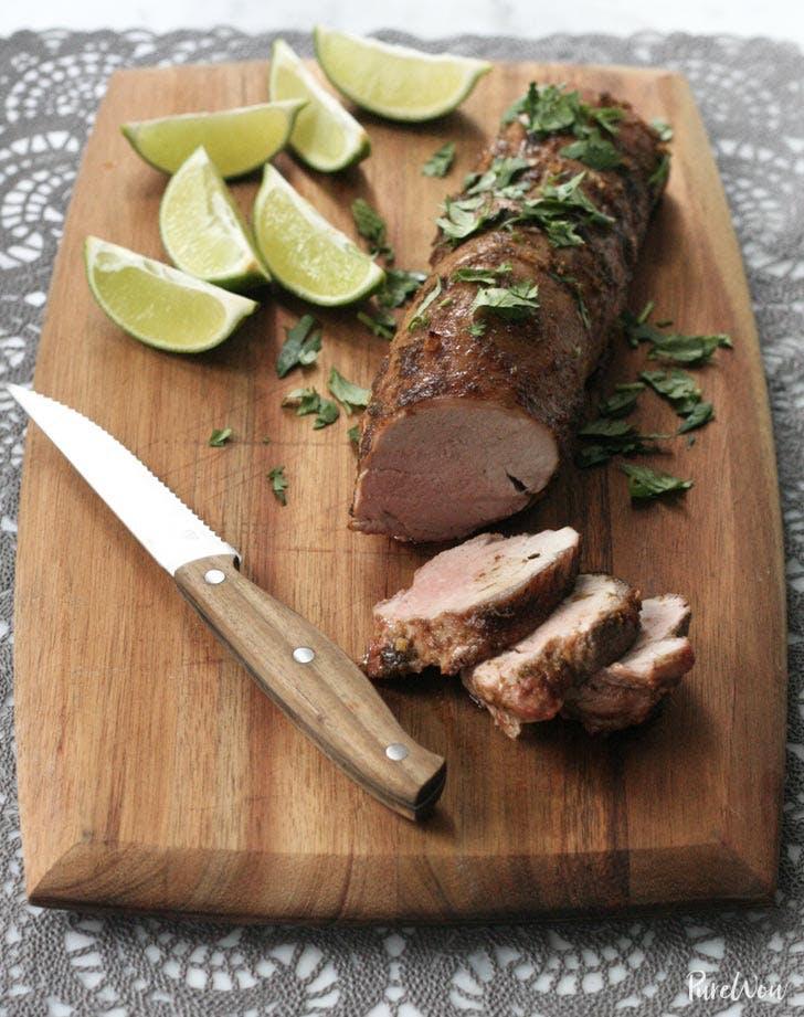honey lime glazed pork
