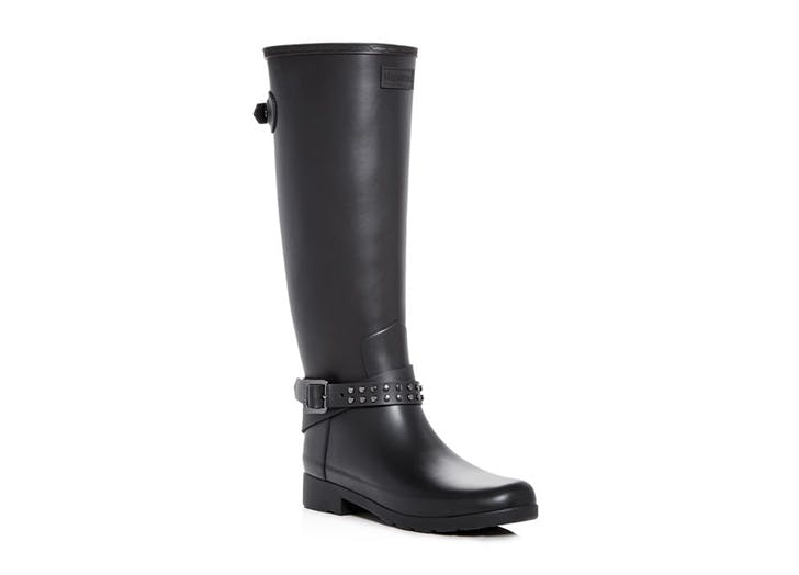 hunter biker rain boot