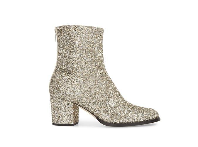jimmy choo glitter boots