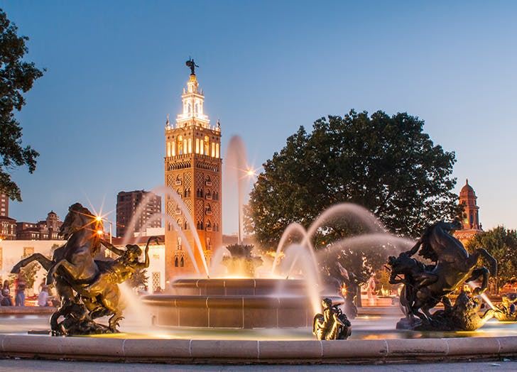 kansas city fountain