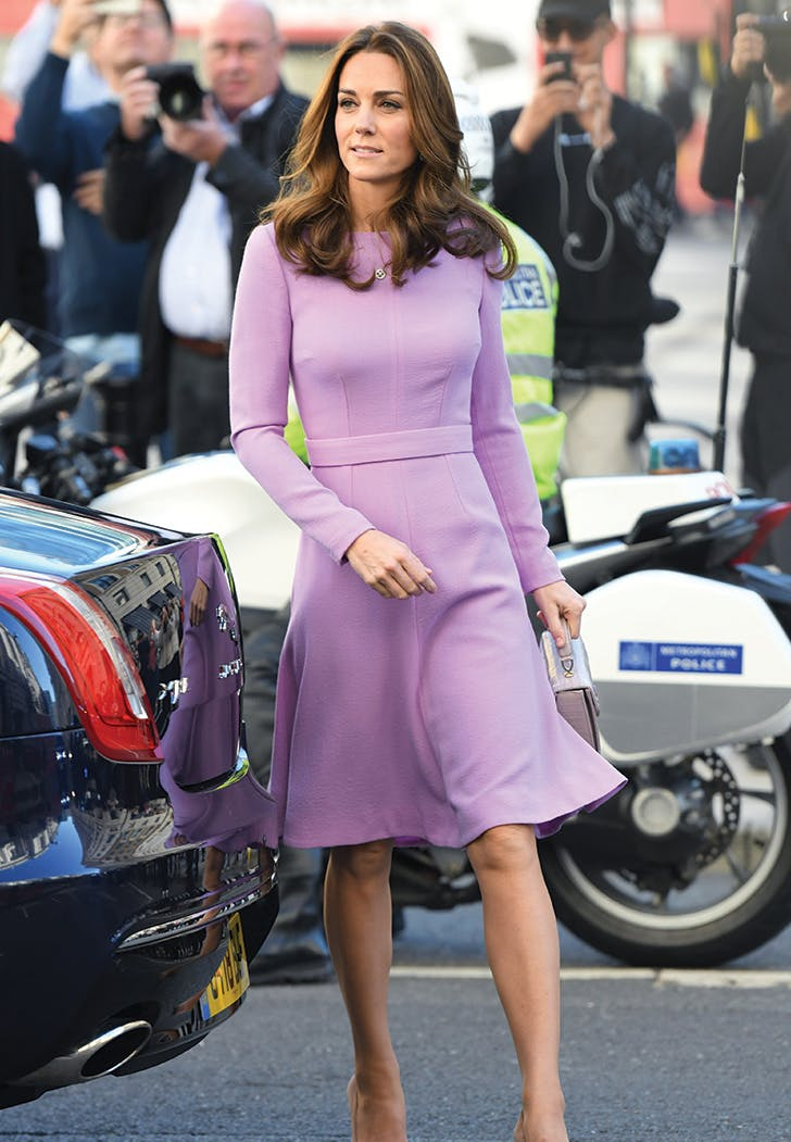 kate middleton lilac dress