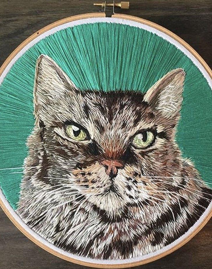 kmdoyleembroidery etsy pet portraits
