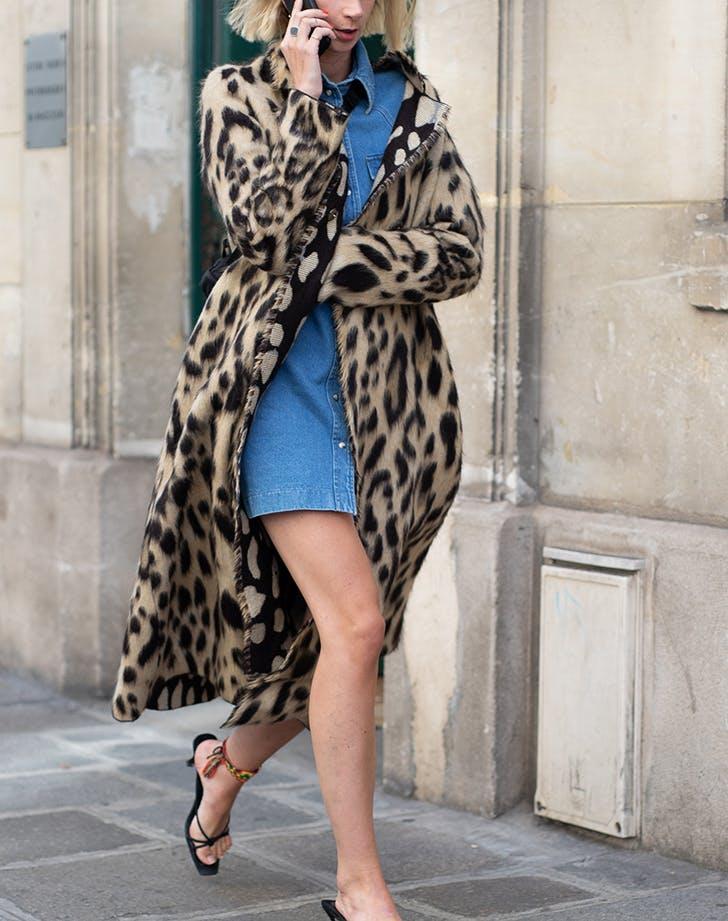 5 Ways to Wear a Denim Dress This Fall