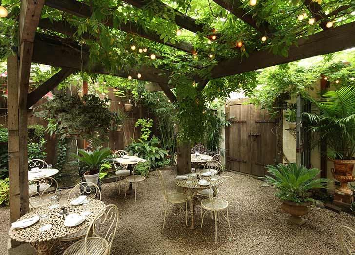 maison premiere nyc garden