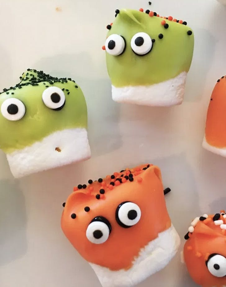 marshmallow monsters recipe