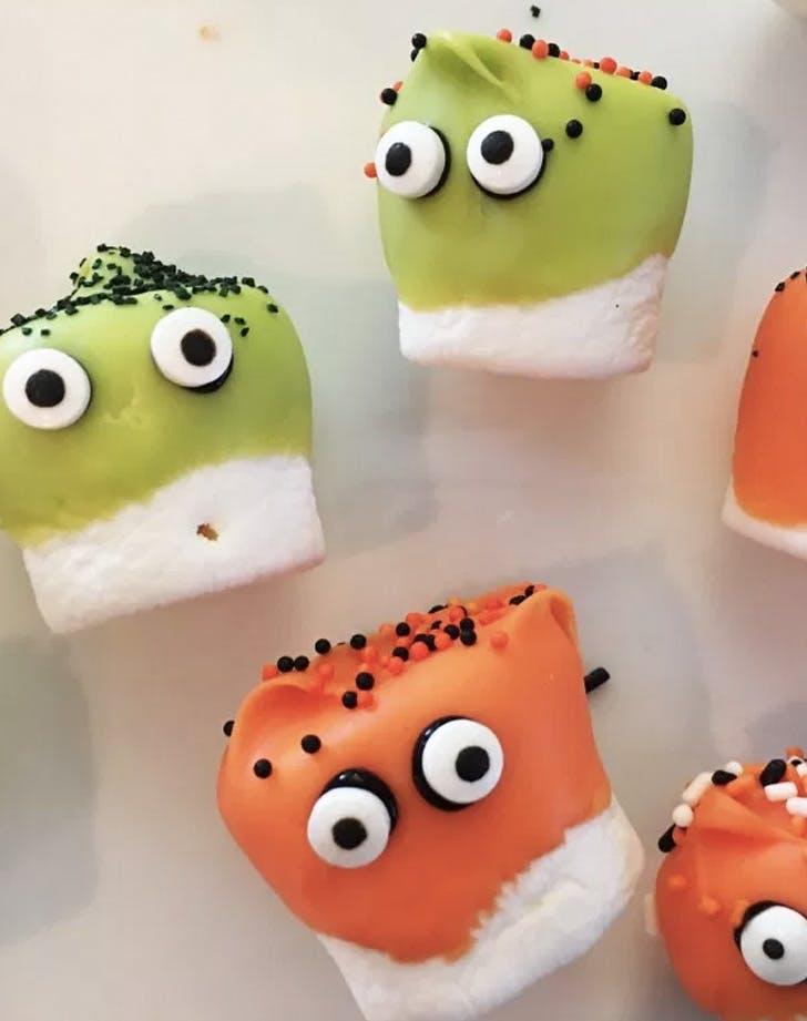 marshmallow monsters recipe