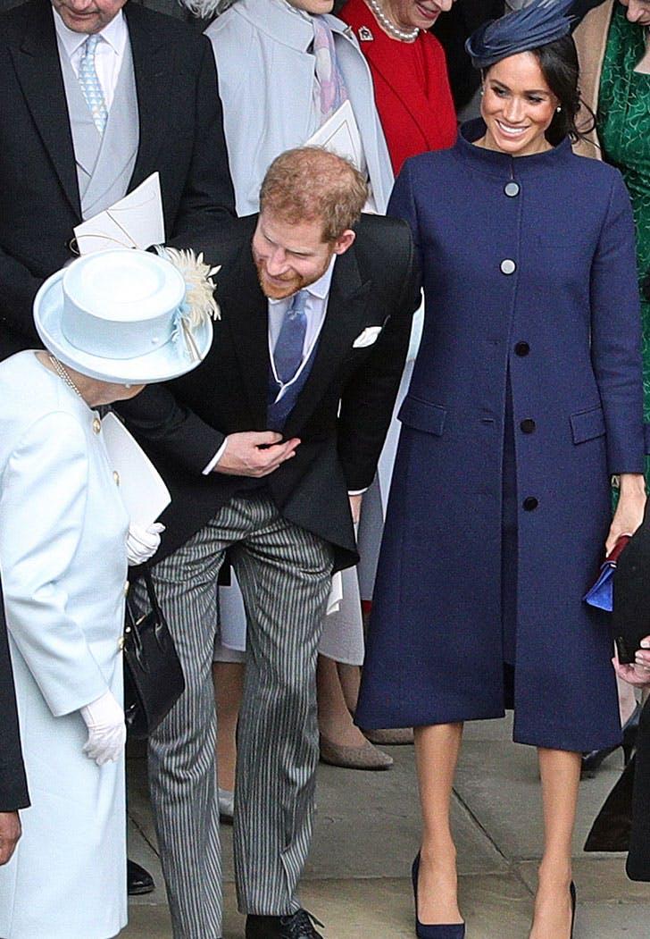 meghan markle givenchy coat dress eugenie wedding