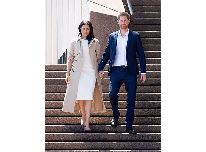 meghan markle white dress