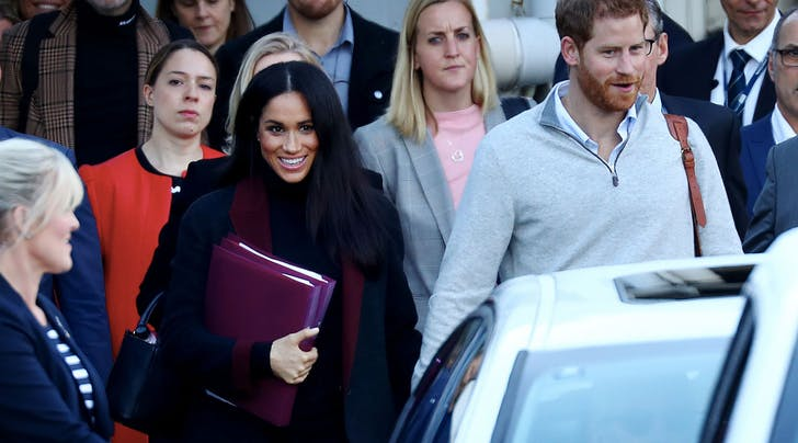 Holy Crumpets! Meghan Markle Is Pregnant!