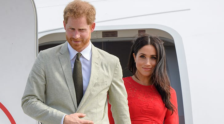 Prince Harry Says Everyone Thinks Meghan Markle Is Pregnant with a Baby Girl