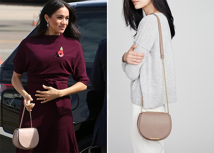 meghan markle spotted carrying cuyana bag