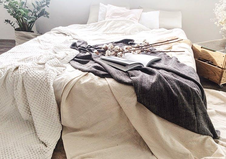 minimalistic bed
