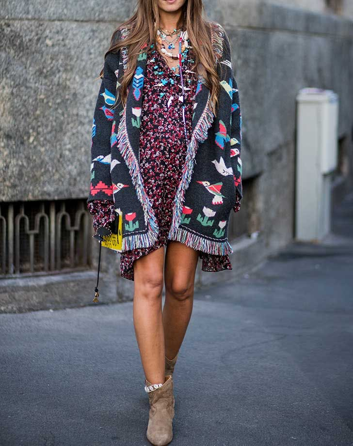 How to Wear Ankle Boots with Dresses - PureWow