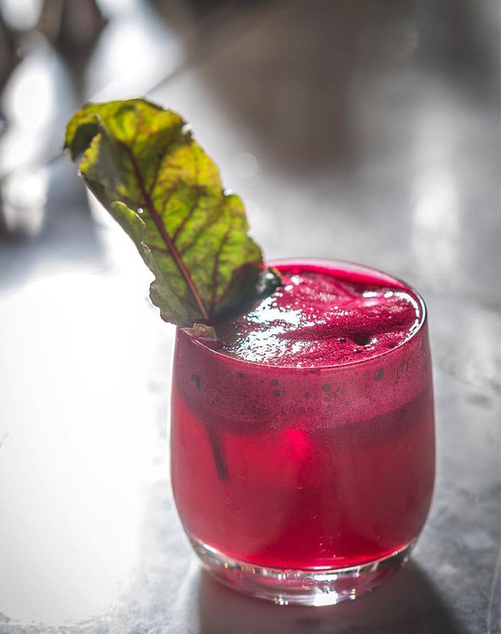 olmsted beet cocktail