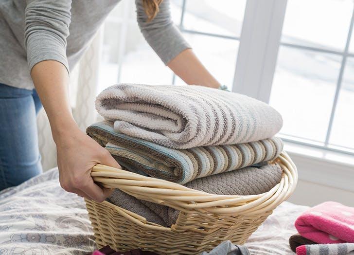 organize the laundry